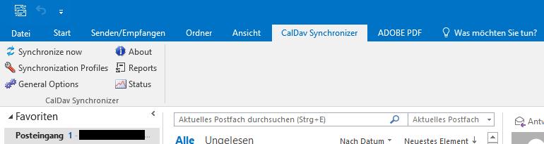 Outlook CalDav Synchronizer