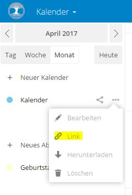 Kalender-URL