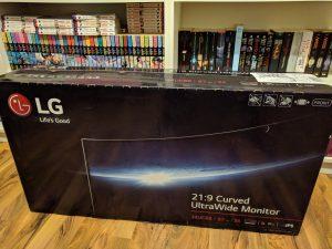 LG34UC88 Verpackung
