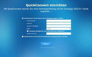 QuickConnect - schneller Zugriff auf die DiskStation.